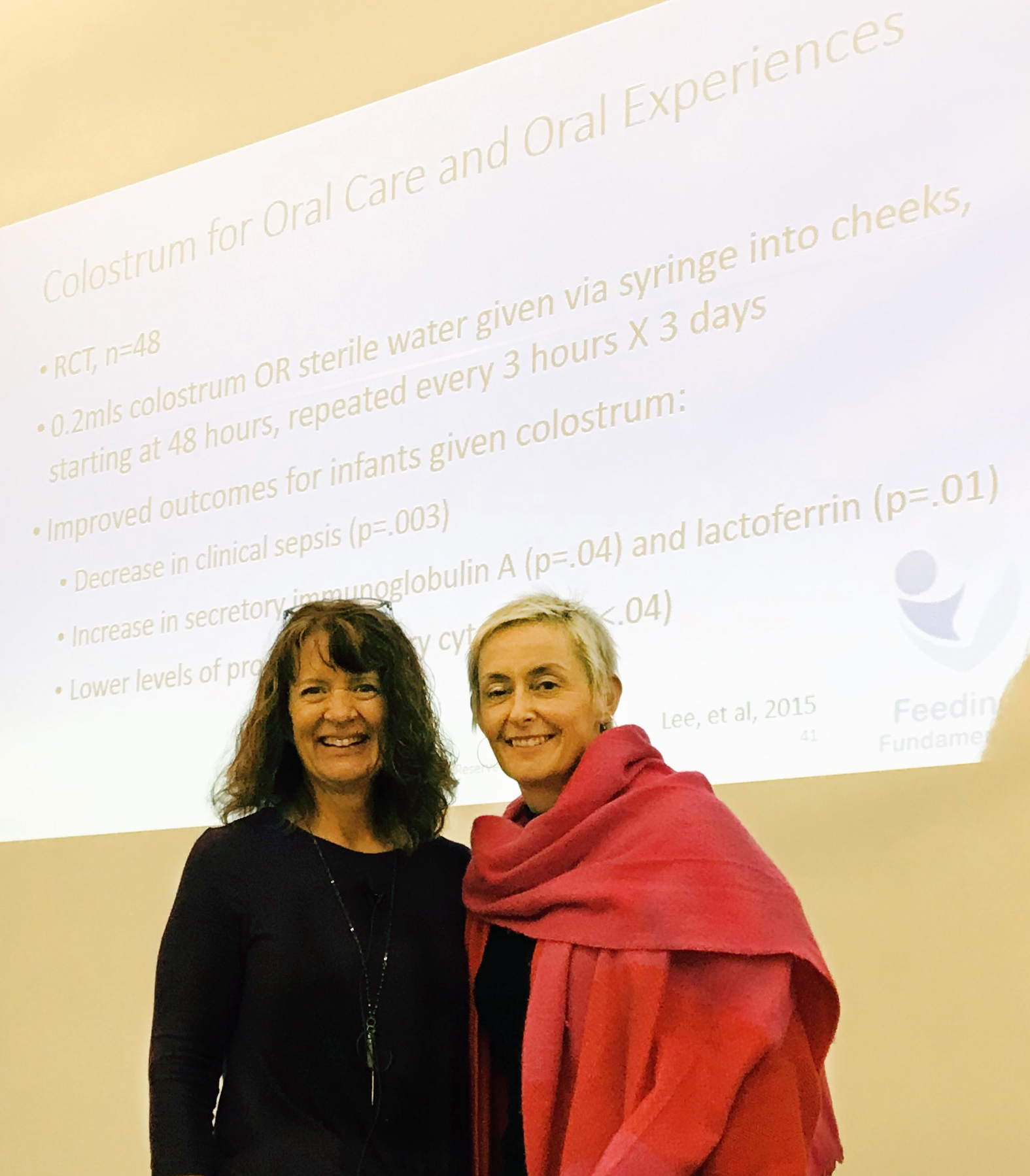 Claire Attended the SOFFI course