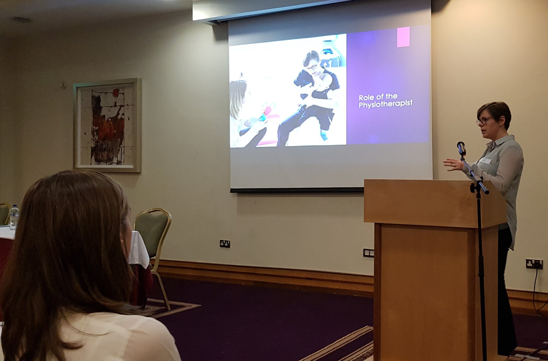 NTTC Team presents at the Chartered Physiotherapists in Paediatrics Conference